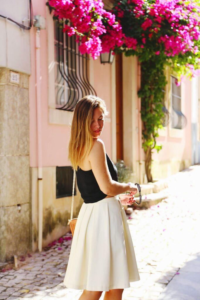 to vogue or bust, vancouver style blog, vancouver fashion blog, canadian style blog, canadian fashion blog, vancouver travel blog, canadian travel blog, alexandra grant, what to see in lisbon, where to eat in lisbon, lisbon day trips, lisbon travel guide, where to go in lisbon, what to see in cascais, where to eat in cascais, cascais dining, cascais day trip, what to do in a day trip cascais, cascais travel guide, cascais tourism, portugal tourism, where to go in portugal, europe sightseeing, europe in two months, where to go in europe, europe travel guide, obakki skirt, joe fresh silk top, zara leopard sandals, rebecca minkoff mini mac bag, what to wear in europe, europe travel style tips, europe travel packing tips, best fashion blogs, best style blogs, best travel blogs, top fashion blogs, top style blogs, top travel blogs