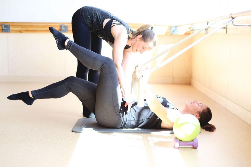 Pelvic strength workout