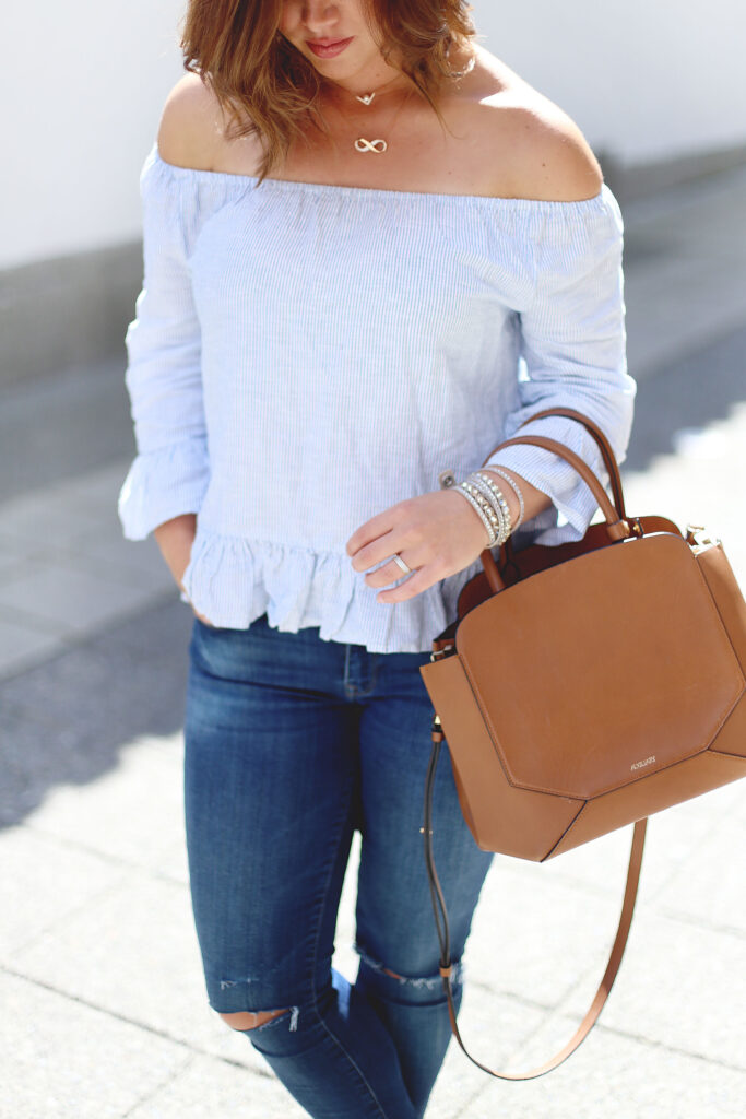 How to wear the off-the-shoulder trend