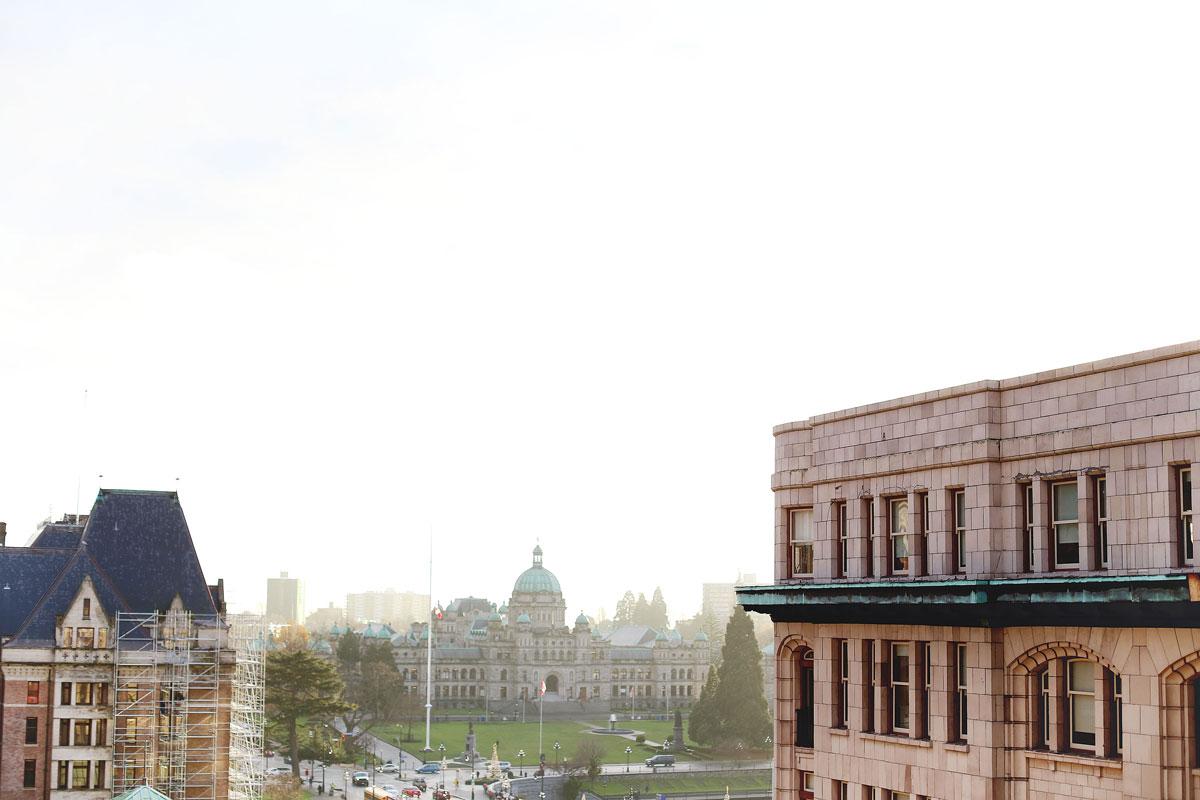 Parliament Building in Victoria, BC, Canada