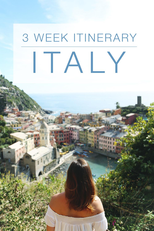itinerary-to-italy