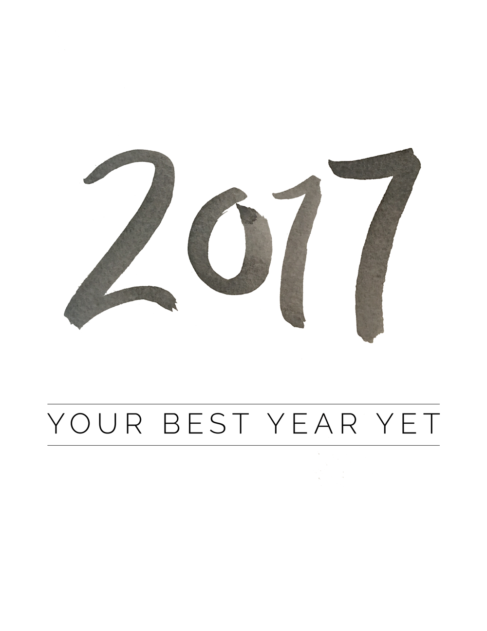 How to set strong resolutions for 2017, with resolution setting tips by To Vogue or Bust including a free 2017 printable calendar