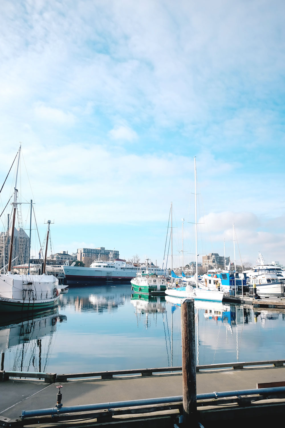 What to see in Victoria BC - Harbour Air sea plane, parliament buildings, Fan Tan Alley, Nourish Victoria, Discovery Coffee, Victoria Harbour