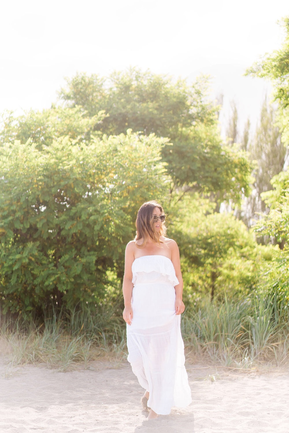 Best white maxi dresses in Michael Kors by To Vogue or Bust