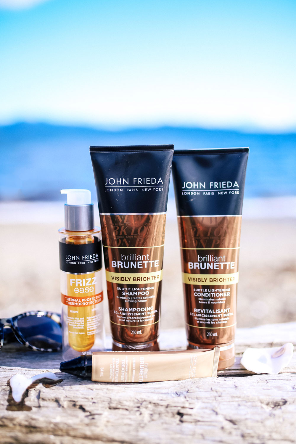 John Frieda visibly brighter collection review by To Vogue or Bust