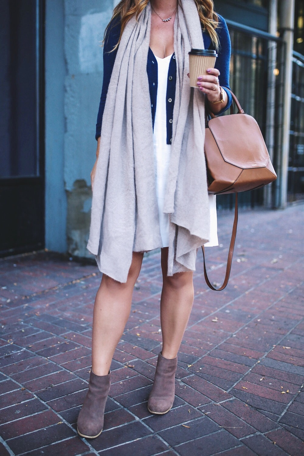How to style a slip dress in Aritzia by To Vogue or Bust
