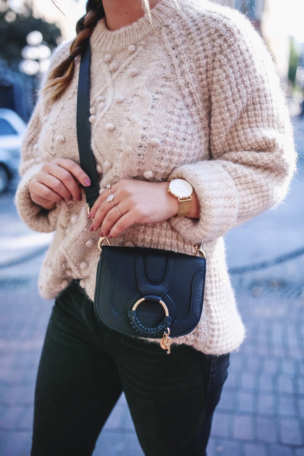 How to style see by chloe mini bag by To Vogue or Bust