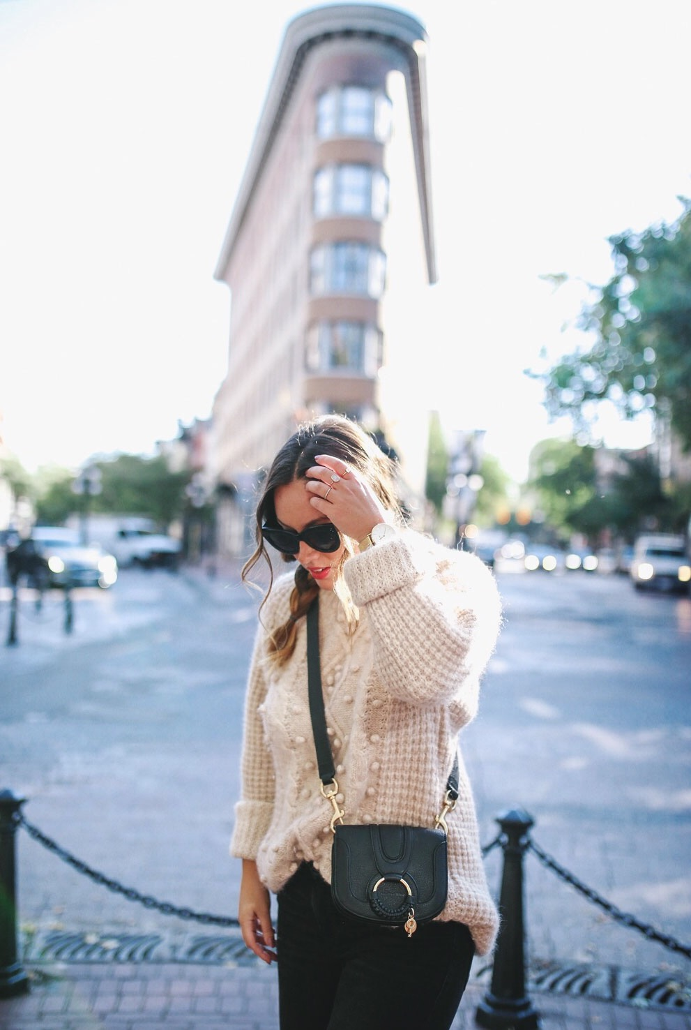 How to style see by chloe mini bag from farfetch by To Vogue or Bust