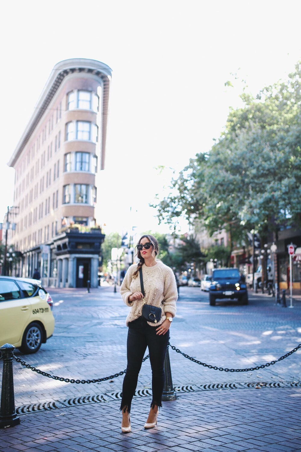 how to style mini bags from farfetch by To Vogue or Bust
