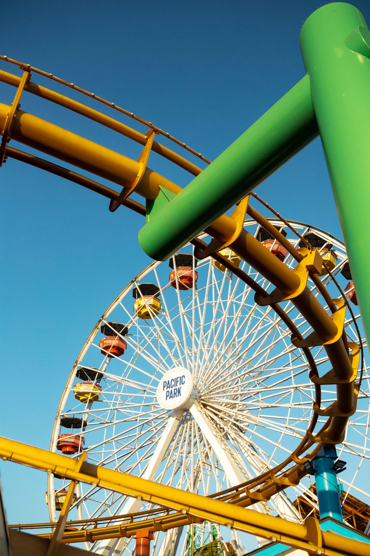 santa monica amusement park by To Vogue or Bust