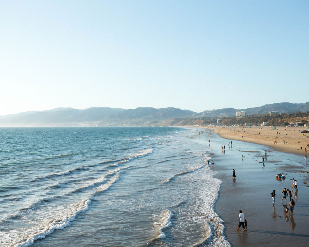 santa monica beach by To Vogue or Bust