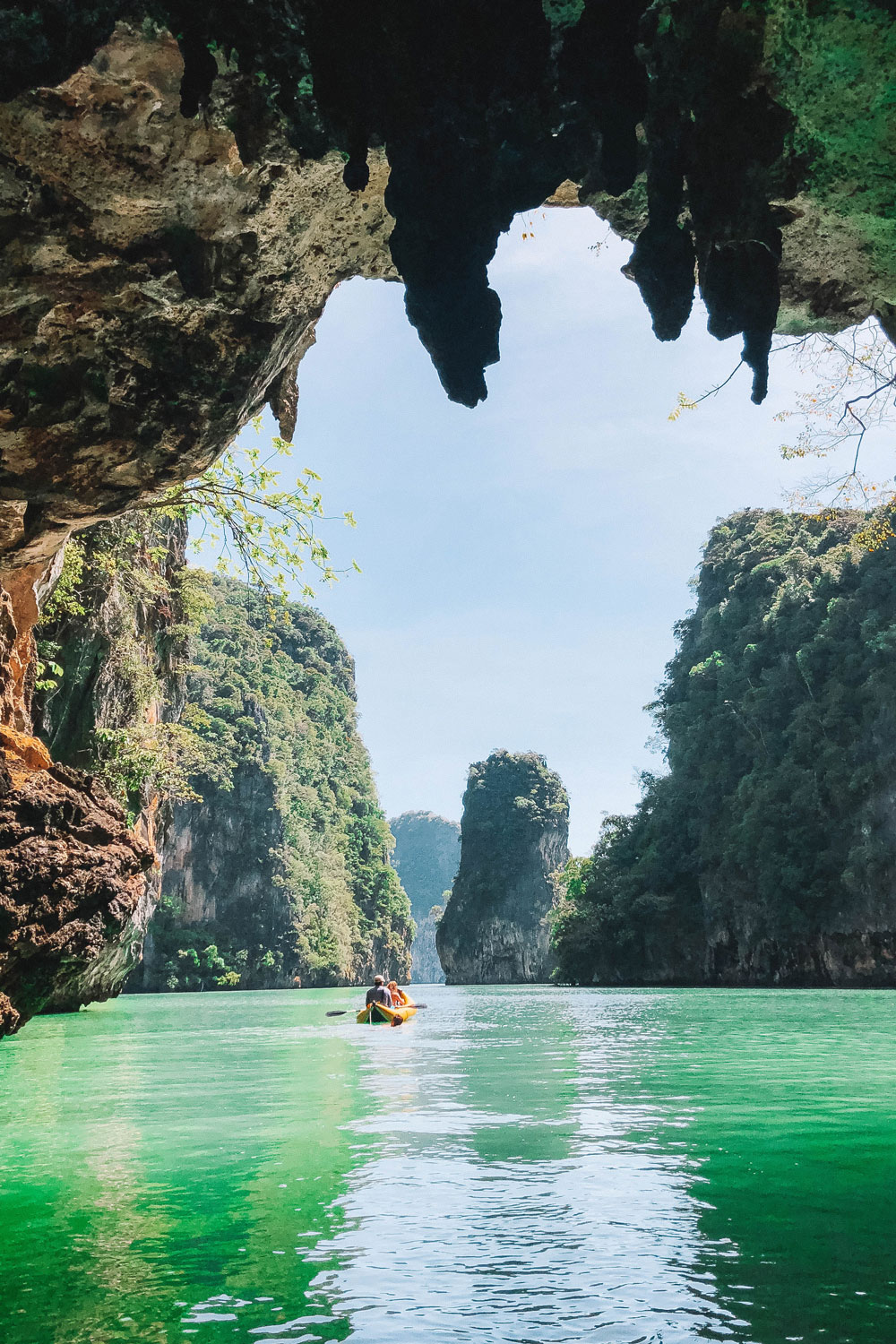 kayak tour thailand by To Vogue or Bust