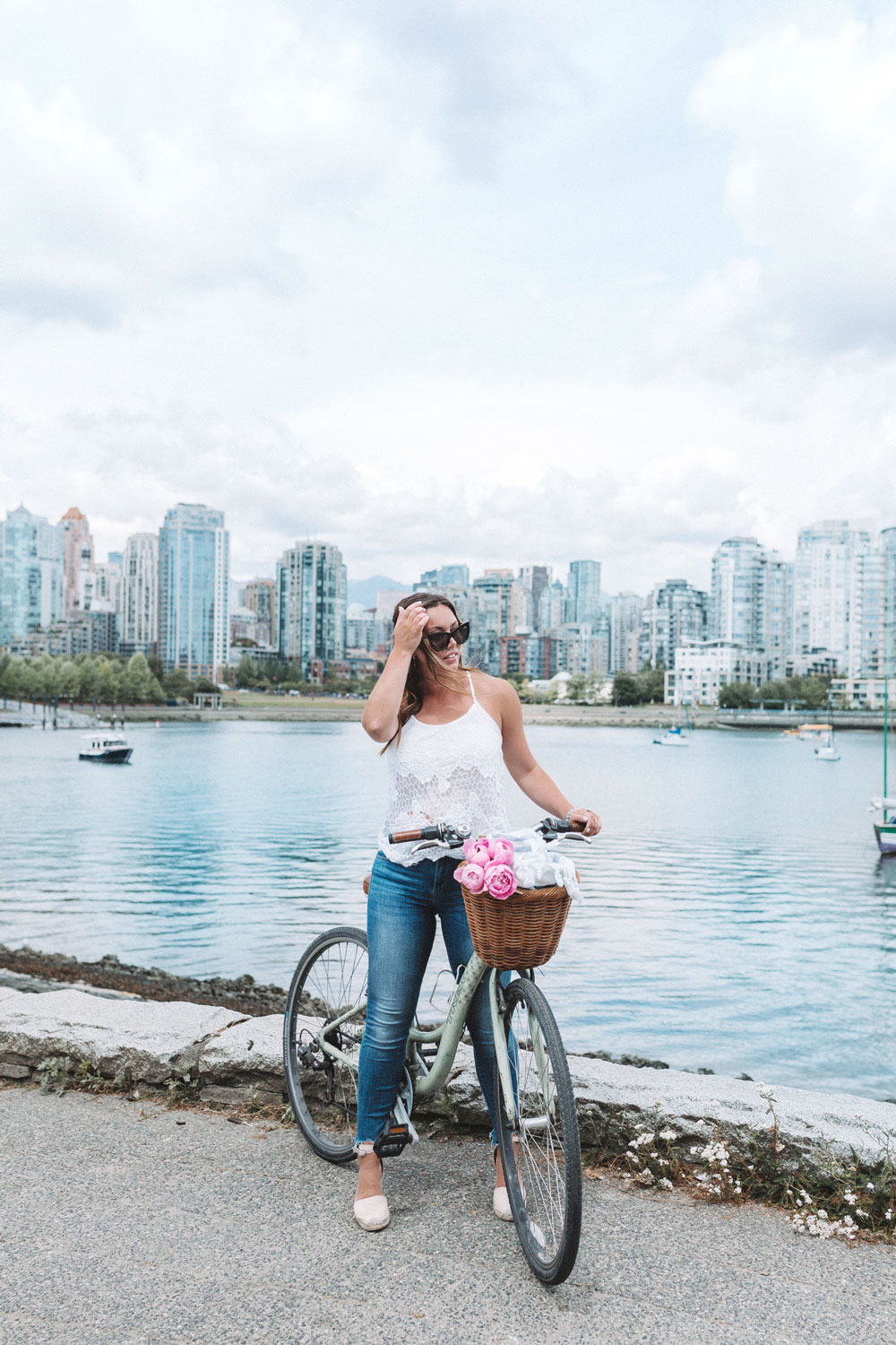 what to wear biking la canadienne espadrille by To Vogue or Bust