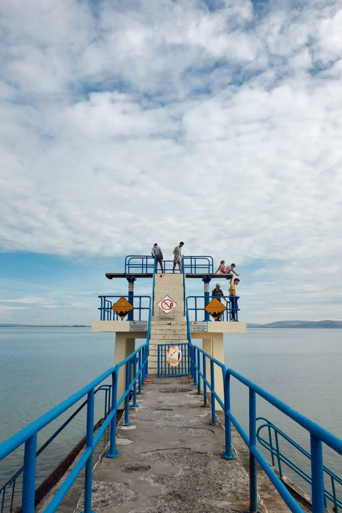 Diving Board Salthill Ireland
