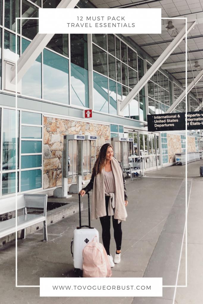 12 Must Pack Travel Essentials