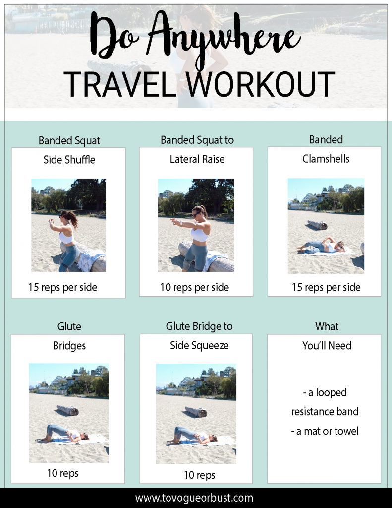Travel Workout Routine