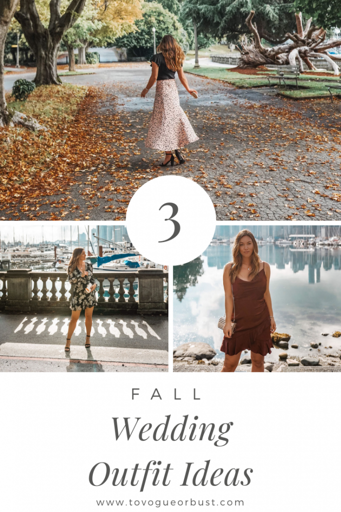 Fall wedding outfit ideas