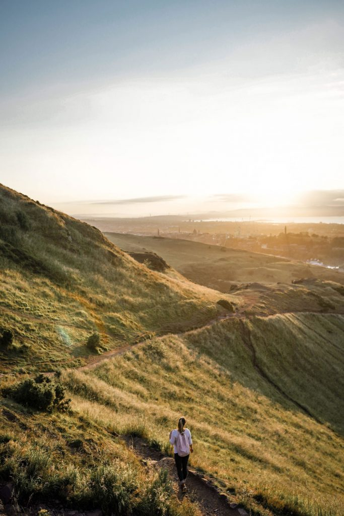 Arthurs Seat Hike Edinburgh