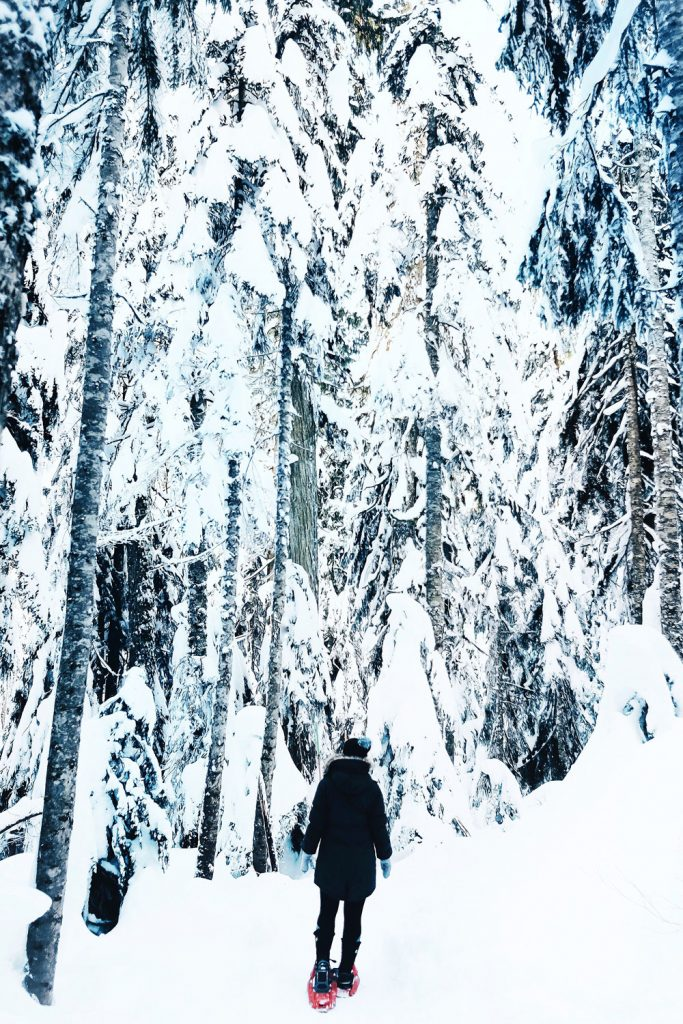 Snowshoeing Vancouver