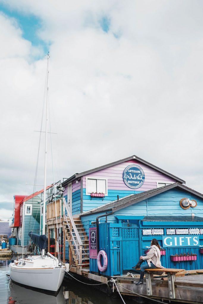 Fishermans Wharf Victoria Canada