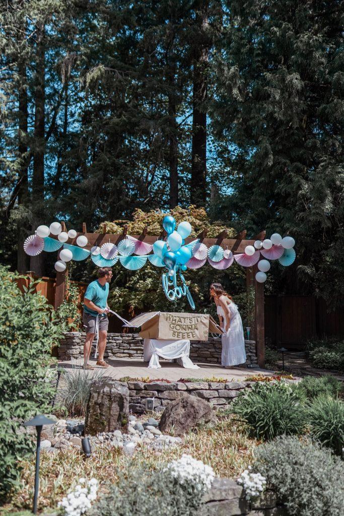 Balloon Gender Reveal