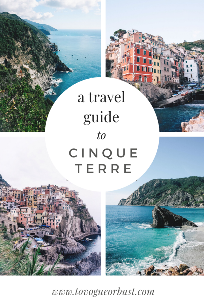 A travel guide to Cinque Terre