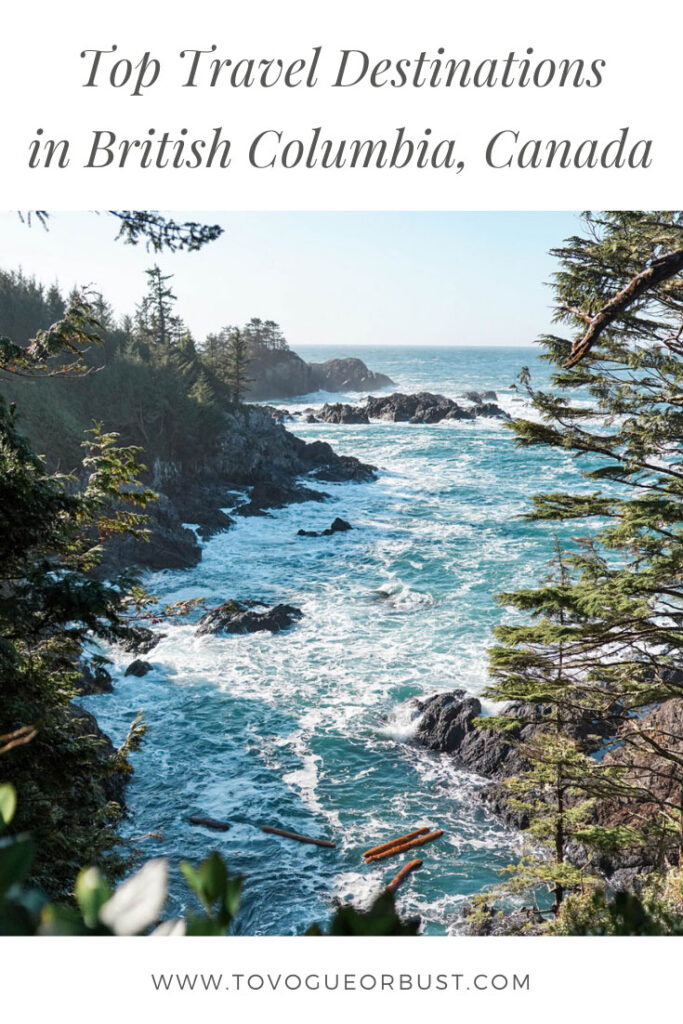 british columbia, canada travel guide