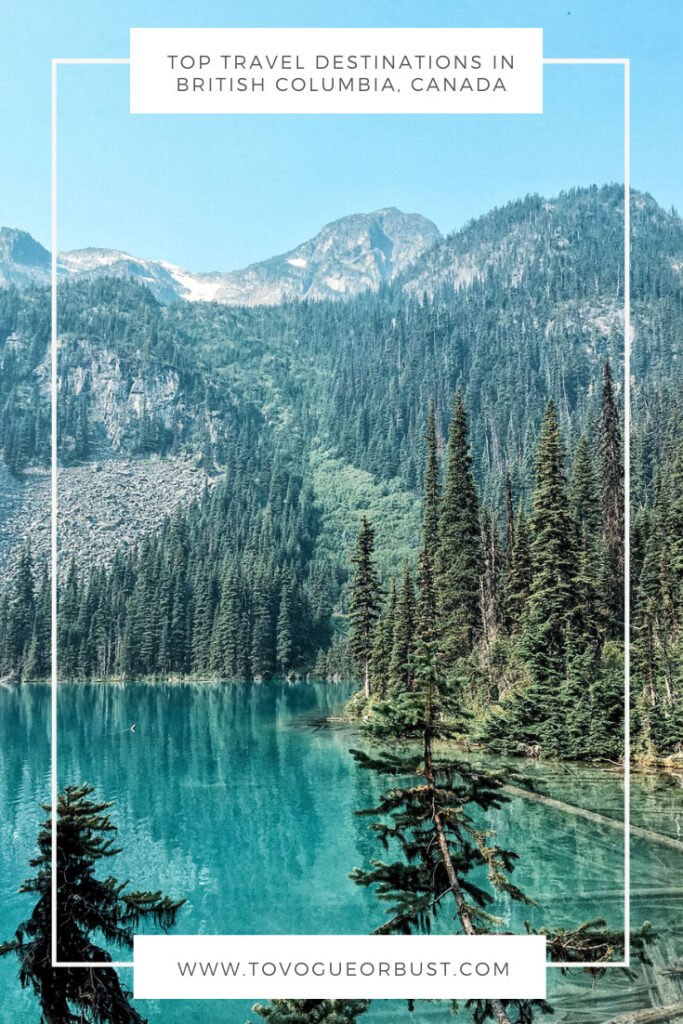 top travel destinations in british columbia