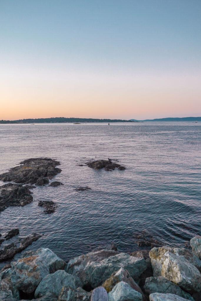 Sunset in Victoria, Canada