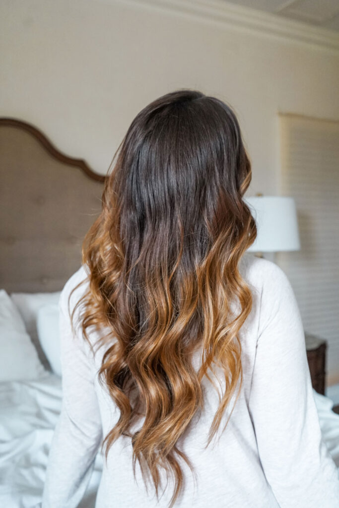 Fine hair curling tips