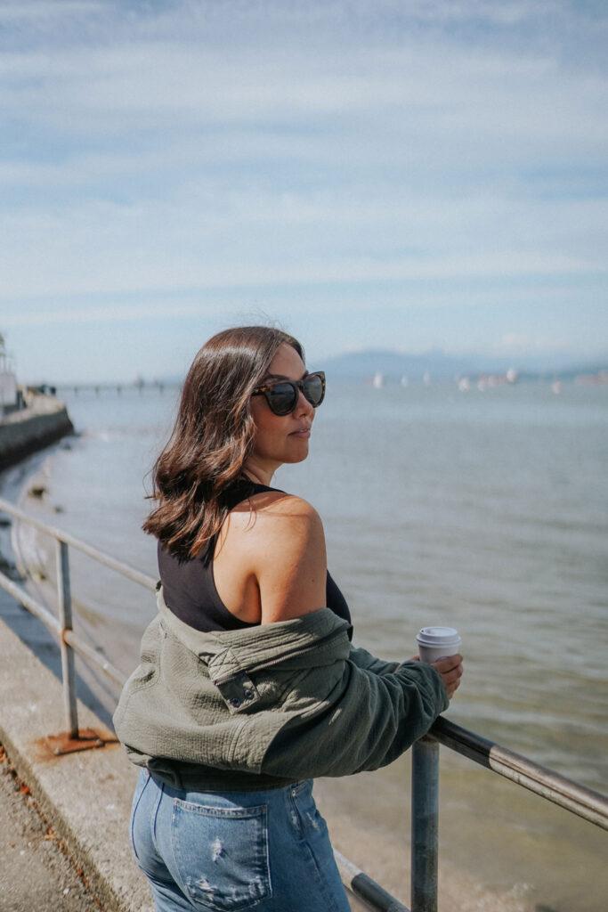Vancouver fashion blogger Alexandra Grant